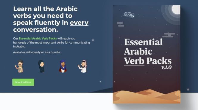 Talk In Arabic Verb Packs