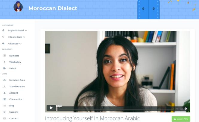 Talk In Arabic Video Lessons